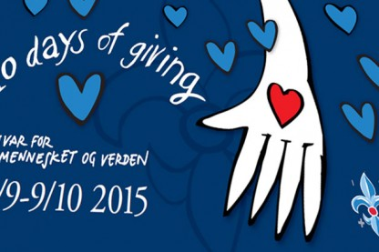 Det er meget snart 10 Days of Giving