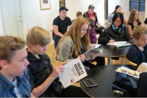 10 Days of Giving PR-gruppen besøgte HK