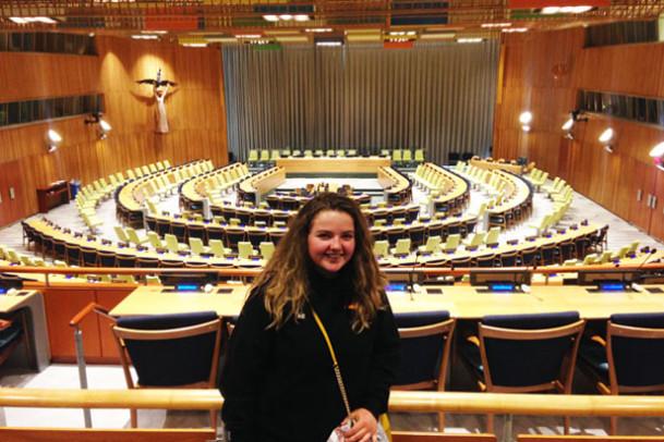 Nyt fra New York: På besøg i FN