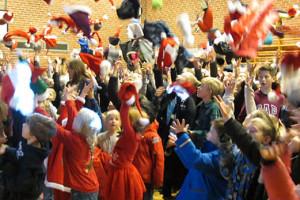 Fællessamling i Hallen 1. december