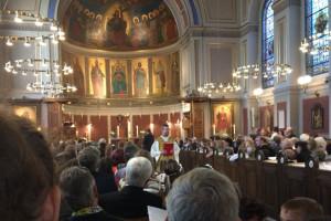 Første kommunion i Sankt Ansgars Kirke