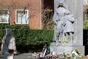 Jeanne d'Arc: Blomster på Frederiksberg