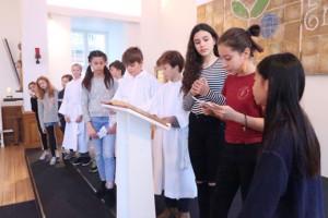 Alle Helgen fejret i begge kirker