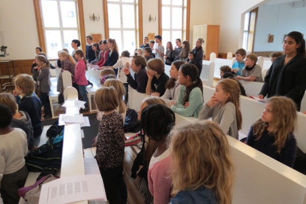 Alle Helgensgudstjenester i to kirker