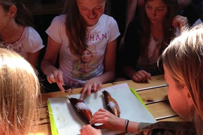 "ISJ 6th and 7th grade go on ""lejrskole"" in Bornholm"