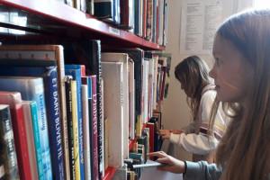 Kursus på biblioteket for 4. klasse