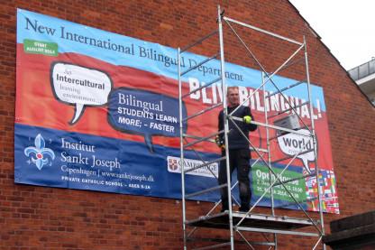 Bliv Bilingual-banner