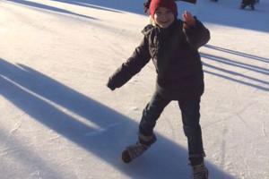Ice – ice skating...