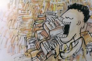 Indsamling af engelske bøger