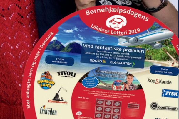 Støt Børnehjælpsdagens Lillebror Lotteri
