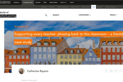 Phasing back to the classroom – a Danish case study