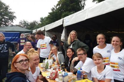 Lærere og ansatte løb DHL i Fælledparken