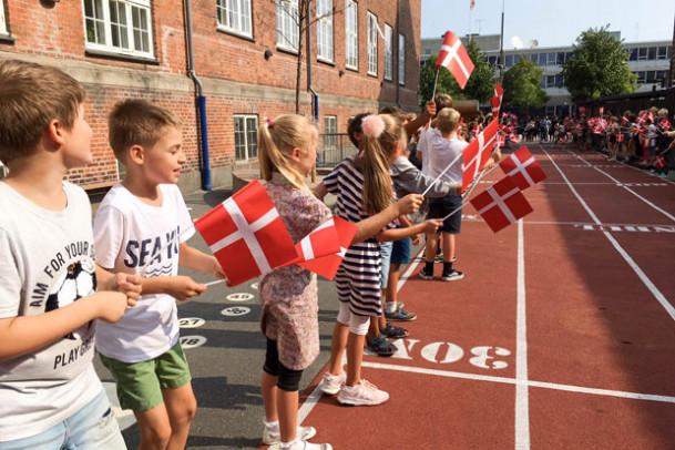Indmeldelse i dansk afdeling 0.-9. klasse