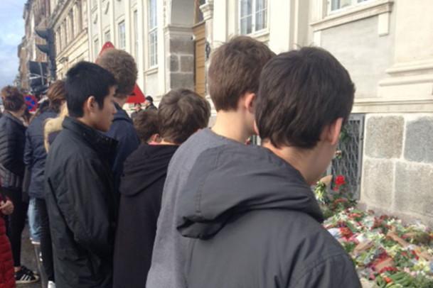 Besøg ved Den Franske Ambassade