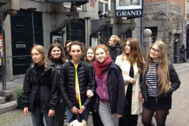 Fransk tur i byen