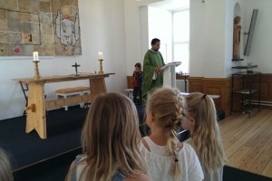 Lunch mass on Wednesdays has started up again