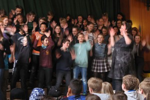 Year 6 sing gospel for a week