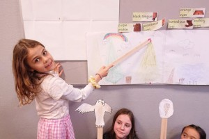 Dukketeater på engelsk