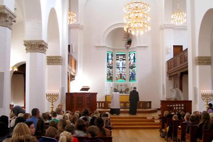 Fælleskirkelig høstgudstjeneste i Esajas Kirken