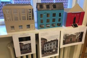 Østerbros huse i model