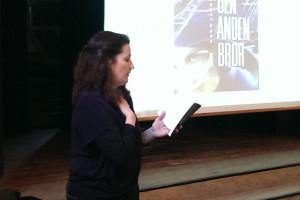 Forfatter Ina Bruhn på besøg