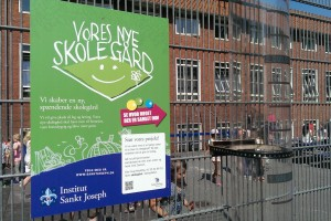 Indsamling til vores nye skolegård er igang