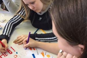 8.b på Next Uddannelse på Nørrebro