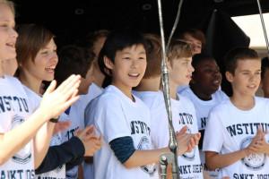 Skolens kor med på festival i week-enden 2