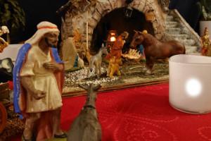 Julekrybberne er på plads