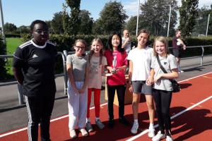5.a's piger vandt i tårnbold på Katolske Lege
