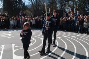 Labyrinten fra Chartres blev indviet
