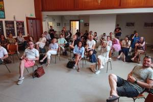 Lærermøde med corona-afstand