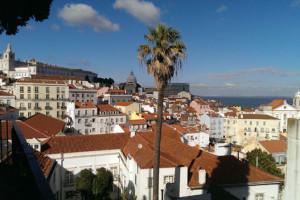 Lærerne tog til Lissabon