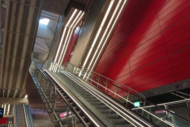Metroen M3 er lukket i to uger