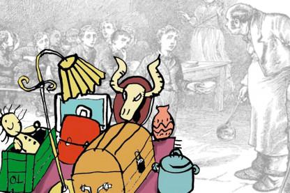 Oliver Twist savner rekvisitter og kostumer