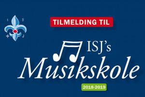 Tilmeldingen til ISJ´s Musikskole er nu åben!