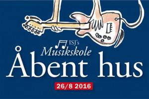 ISJ's Musikskole holder Åbent hus fredag 26/8