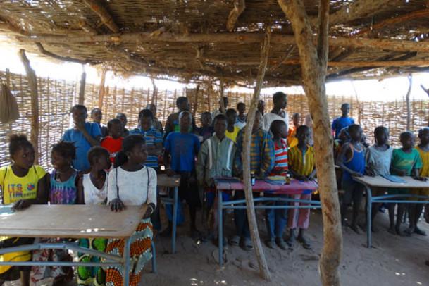 Hjælp til børn i Senegal