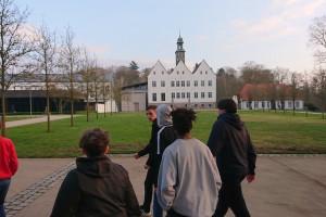 7. og 8. klasse går i kloster