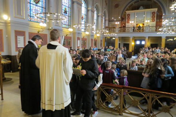Påskegudstjeneste i Sankt Ansgars Kirke