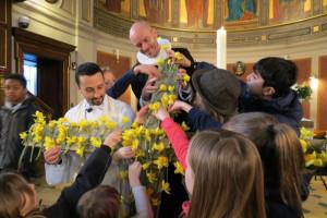 Påskegudstjeneste i Sankt Ansgar
