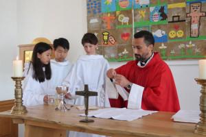 Pinsegudstjenester for hele skolen