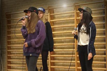 Rap og beatlyrik aften på Sankt Annæ Skole