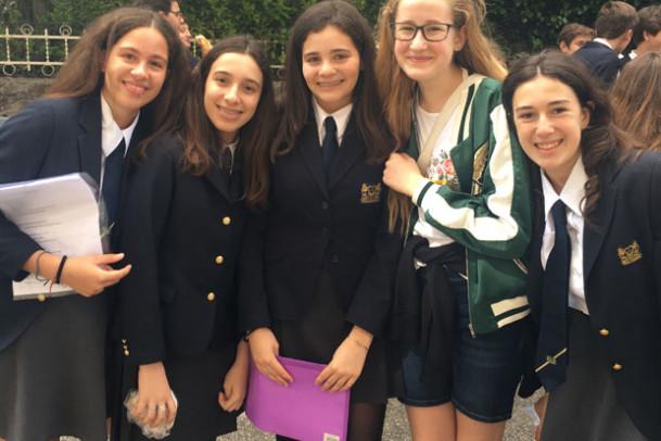 8. klasserne er på Rom-rejse