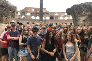 9.i had a great trip to Rome