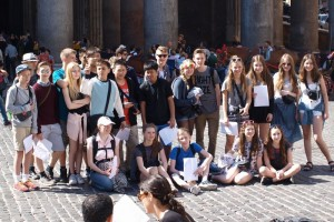 8th grade field trip to Rome