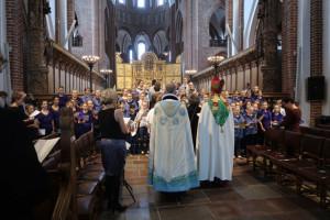 Festgudstjeneste i Roskilde Domkirke