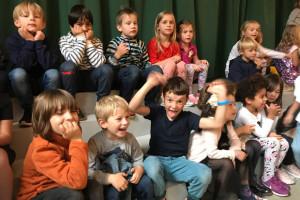 Børnehaveklassefest i SFO'en