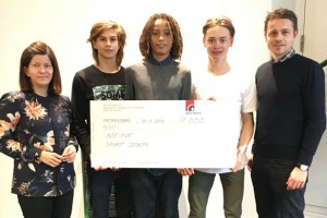 Institut Sankt Joseph modtog 10.000 kr.
