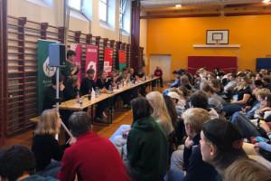 Spændende debat med ungdomspolitikerne
